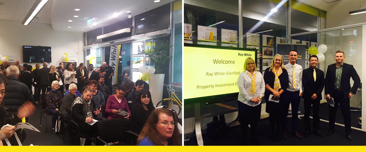 Ray White Glenfield host a successful Property Investor Information Evening