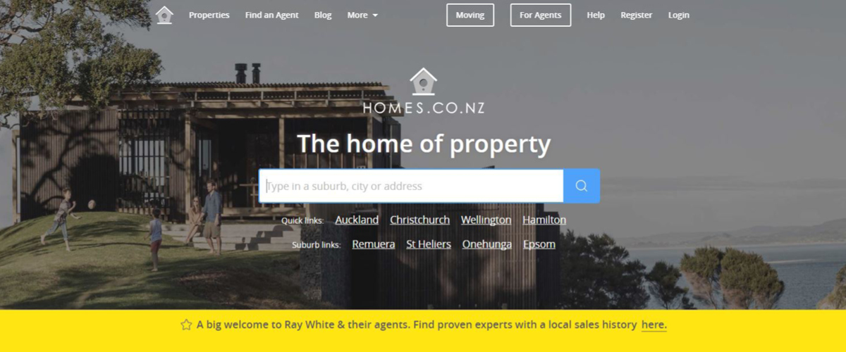 Ray White Joins homes.co.nz