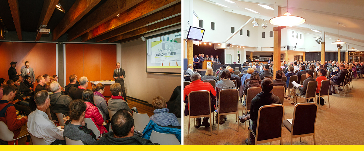 Over 3,500 landlords and investors attend the annual Ray White Landlord Event in over 70 locations nationwide