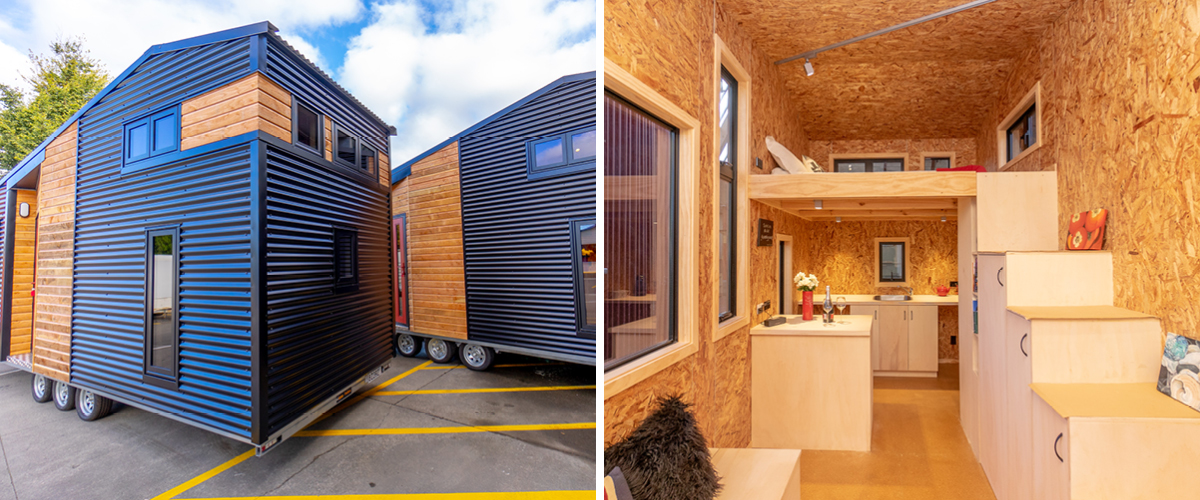 Tiny homes being sold for big cause